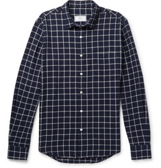 AMI Checked Flannel Shirt
