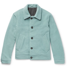 AMI Boiled Wool-Blend Jacket