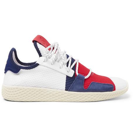 641c77ac7c1 Adidas Consortium Billionaire Boys Club Tennis Hu V2 Primeknit Sneakers In  White