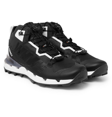 1c180068eeaa Adidas Consortium + White Mountaineering Terrex Fast Gore-Tex And Mesh  Sneakers - Black
