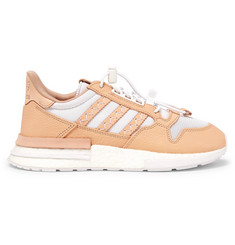 adidas Consortium + Hender Scheme ZX 500 RM MT Leather and Mesh Sneakers