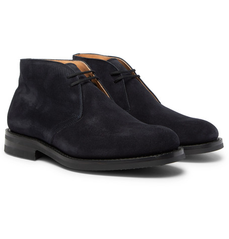 Ryder Suede Chukka Boots by Church's