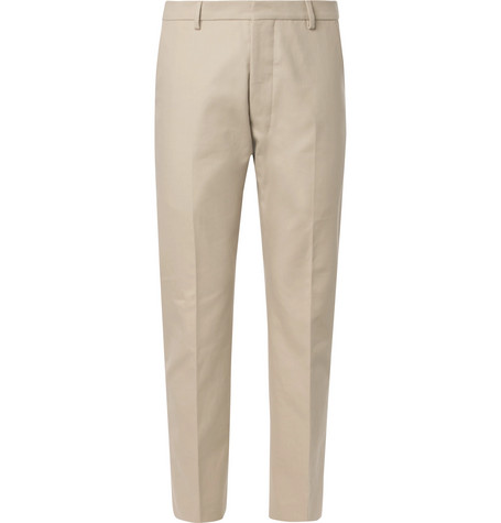 The Cheapest For Sale 2018 New Online Beige Cotton-twill Suit Trousers Ami Buy Online Cheap Price With Paypal Cheap Price bBFTSNXk