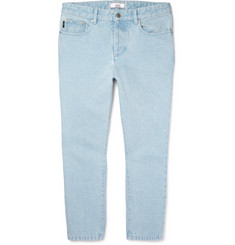 AMI - Cropped Tapered Denim Jeans