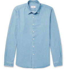 AMI - Washed-Denim Shirt