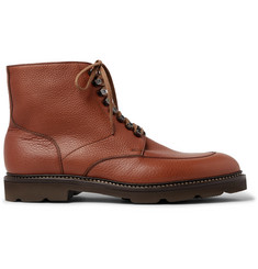 John Lobb Helston Full-Grain Leather Boots