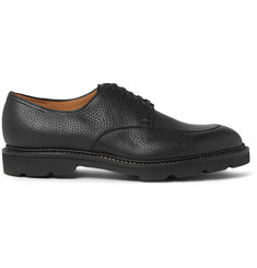 John Lobb Sentry Pebble-Grain Leather Derby Shoes