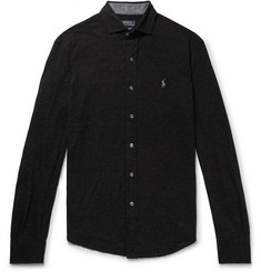Polo Ralph Lauren Mélange Cotton-Piqué Shirt
