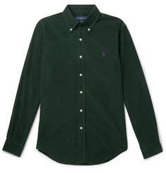Polo Ralph Lauren Slim-Fit Button-Down Collar Cotton-Corduroy Shirt