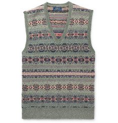 Polo Ralph Lauren - Fair Isle Wool-Blend Jacquard Sweater Vest