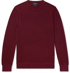 Polo Ralph Lauren Waffle-Knit Pima Cotton Sweater