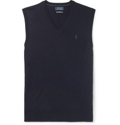 Polo Ralph Lauren Slim-Fit Merino Wool Sweater Vest