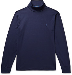Polo Ralph Lauren Cotton-Jersey Rollneck T-Shirt