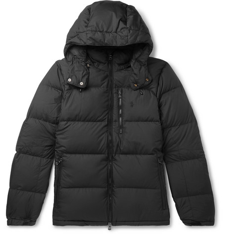 Quilted Ripstop Hooded Down Jacket by Polo Ralph Lauren