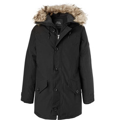 Polo Ralph Lauren Faux Fur-Trimmed Twill Parka