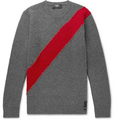 Fendi Striped Wool Sweater