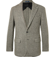 Polo Ralph Lauren Morgan Slim-Fit Unstructured Herringbone Wool-Blend Blazer