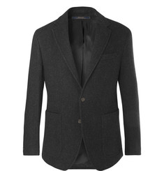Polo Ralph Lauren Charcoal Morgan Slim-Fit Virgin Wool-Blend Blazer