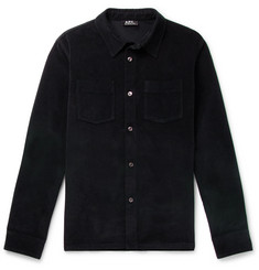 A.P.C. Joe Brushed Cotton-Twill Shirt