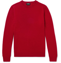 A.P.C. Felix Wool and Cashmere-Blend Sweater