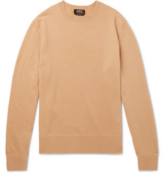 A.P.C. Han Felted Merino Wool Sweater