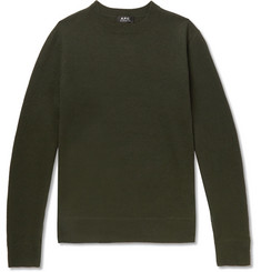 A.P.C. - Han Felted Merino Wool Sweater