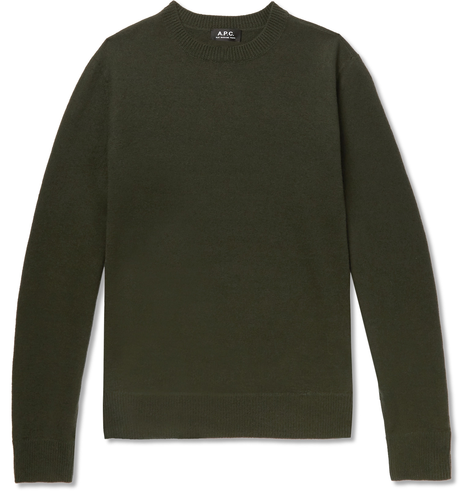 Felted A p c han Merino Wool Sweater qZtRf