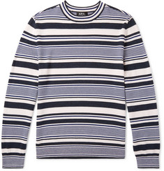 A.P.C. Striped Merino Wool Sweater