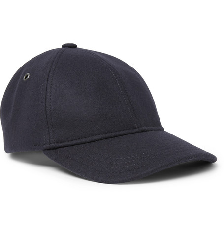 alex-wool-blend-felt-baseball-cap by apc ce89dbb195c