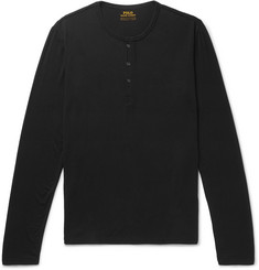 Polo Ralph Lauren Stretch-Modal Henley Pyjama T-Shirt