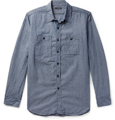 Engineered Garments Cotton-Chambray Shirt