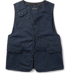 Engineered Garments Upland Cotton-Canvas Gilet
