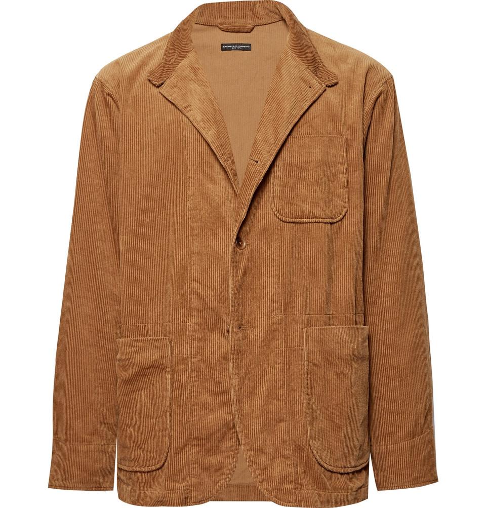 Loiter Cotton-corduroy Blazer - Tan