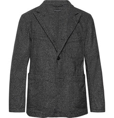 Engineered Garments Grey Bedford Slim-Fit Unstructured Wool-Blend Tweed Blazer