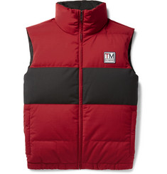 Z Zegna - Reversible Quilted TECHMERINO Wool-Blend Down Gilet