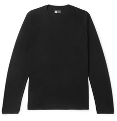 Z Zegna TECHMERINO Wool and Silk-Blend T-Shirt