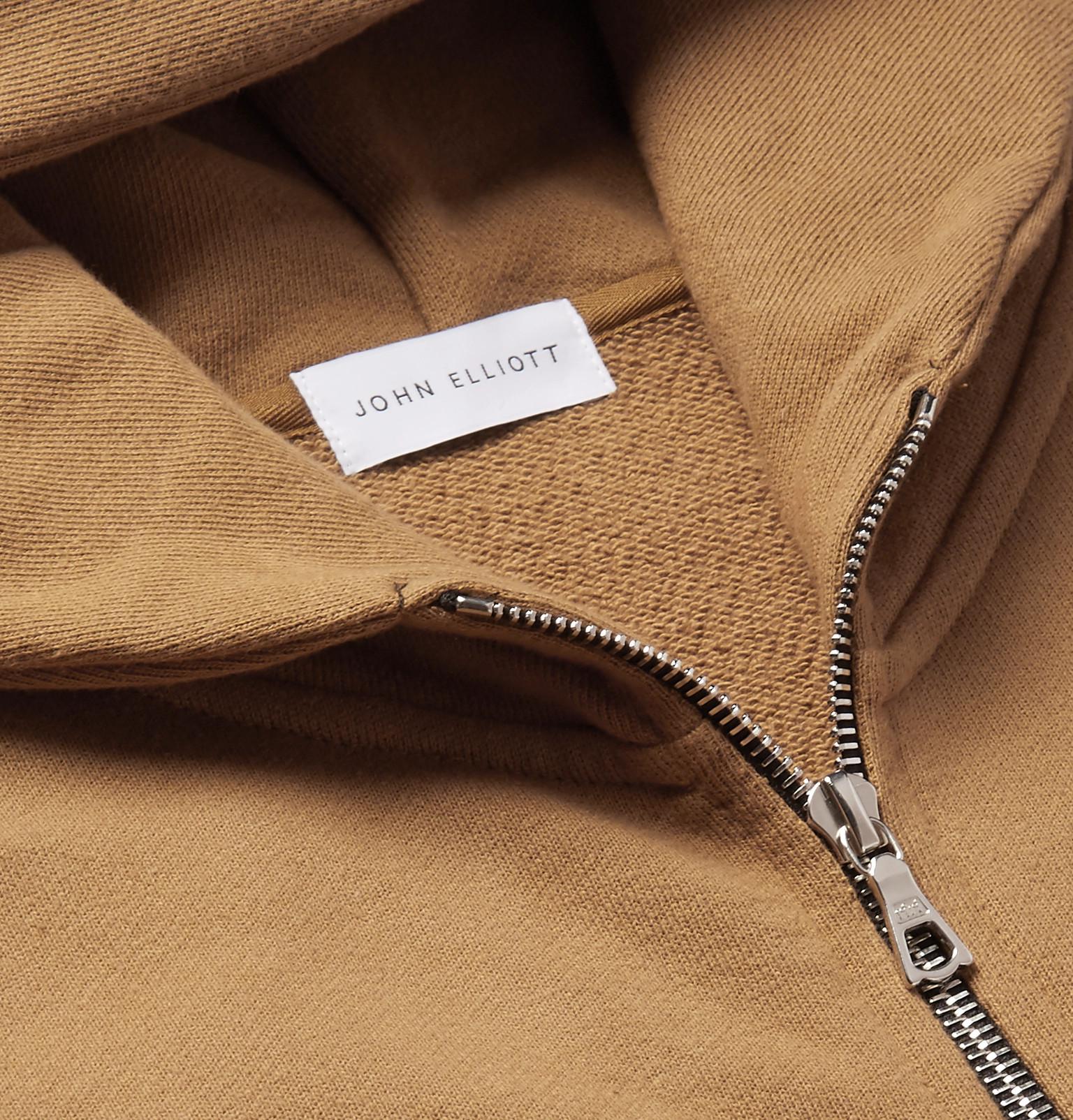 Cotton Jersey Elliottflash Loopback Hoodie Zip John Dual Up fwTqxBxC