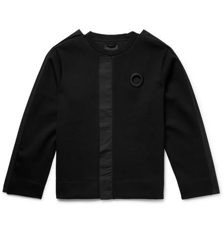 Poplin Trimmed Stretch Jersey Sweatshirt by Craig Green