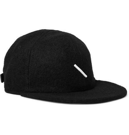 a04188052ba Saturdays Surf Nyc Embroidered Wool-Blend Baseball Cap In Black ...