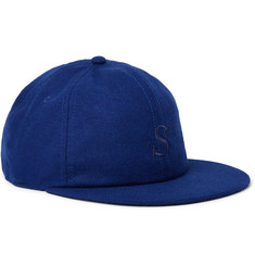 Saturdays NYC Rich Embroidered Wool-Blend Baseball Cap