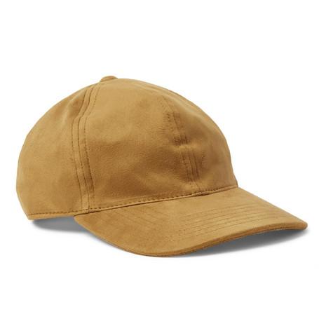 NONNATIVE DWELLER FAUX SUEDE BASEBALL CAP