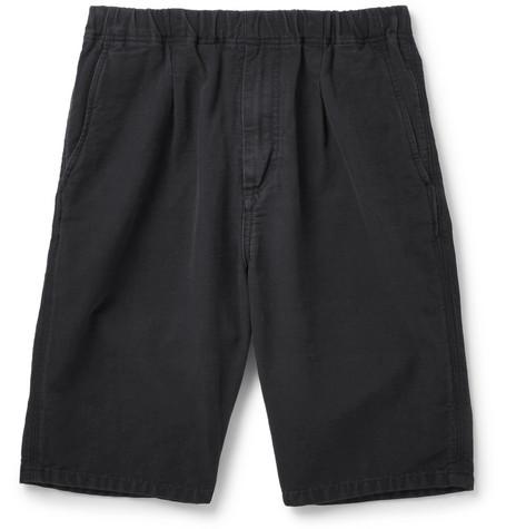 NONNATIVE Manager Cotton-Faille Drawstring Shorts