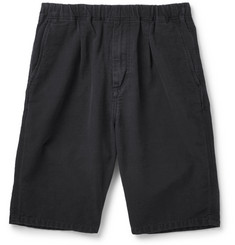 nonnative Manager Cotton-Faille Drawstring Shorts