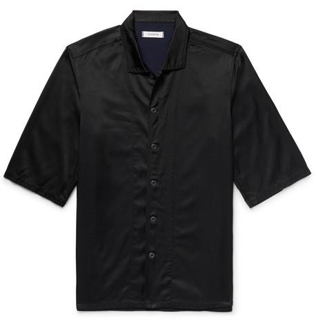 NONNATIVE Satin-Twill Shirt