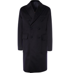Officine Generale - Double-Breasted Storm System Wool Overcoat
