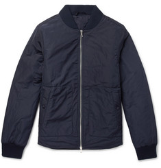 Officine Generale Nylon Padded Bomber Jacket