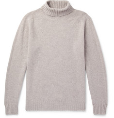 Officine Generale Mélange Wool Rollneck Sweater