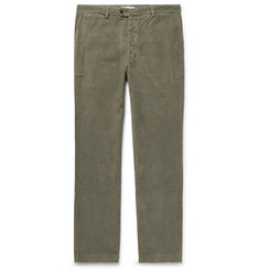 Officine Generale Fisherman Cotton-Corduroy Trousers