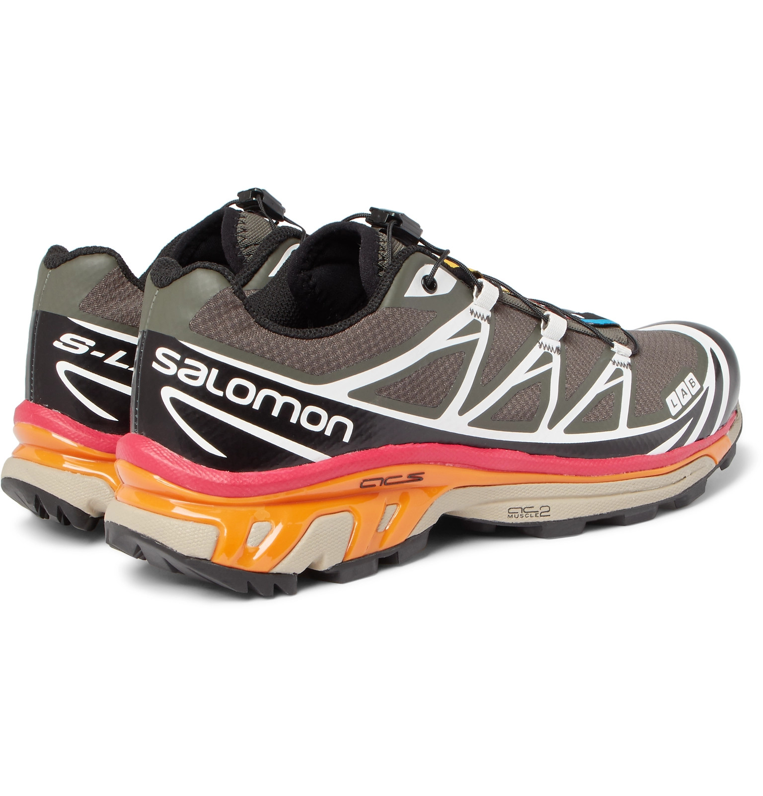 huge discount 3c444 9a5e5 ... cheap salomon s lab xt 6 softground mesh and rubber running sneakers  30a3a cdc1f