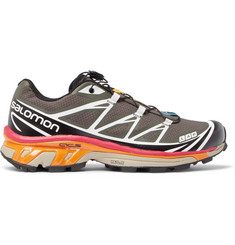 Salomon S/LAB XT-6 Softground Mesh and Rubber Running Sneakers